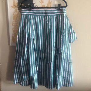 Halogen x AtlanticPacific Asymmetrical Skirt